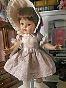 Sso Doll Clothes Calico Dress Fits 19-20 P92 Toni Shirley Temple Raving Beauty
