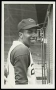 Frank Robinson 1956 Rookie Reds Type 1 Original Photo Psa/dna Crystal Clear