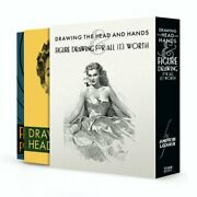 Drawing The Head And Hands And Figure Drawing Box Set By Andrew Loomis New