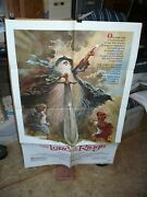 Lord Of The Rings Orig 1-sh A / Movie Poster Ralph Bakshi Art Tolkein