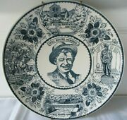 Will Rogers Memorial Ironstone Decorative Plate With Wall Hanger