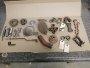 Ford 8n Tractor Part Lot. Brake, Throttle, Hitch, Engine Parts. C-details And Pics