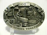 Case Ih 235 245 255 265 275 200 Series Utility Tractor Pewter Belt Buckle 1988