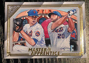 2020 Topps Gallery Master And Apprentice Jacob Degrom Pete Alonso
