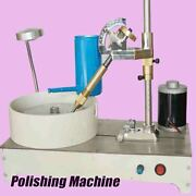 Polishing Machine 120w 0-1800rpm Stainless Steel Faceted Gemstone Jade Process