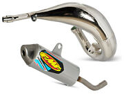 Fmf Fatty Exhaust Pipe And Powercore 2 Silencer - 2005-on Yamaha Yz125 Yz125x