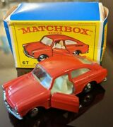Matchbox Lesney Volkswagen 1600 Tl Mo67 A 1967 Vintage With Box