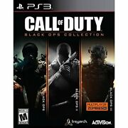 Ps3 Action-call Of Dutyblack Ops Collection Black Ops 1/2/3 Ps3 New