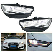 For Audi A6 Headlamps 2012-2018 All Led Projector Led Drl Replace Oem Halogen