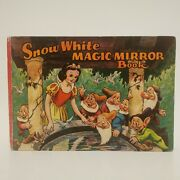 Snow White Magic Mirror Book 1938/39 Hardcover 60 Pgs Dean And Sonand039s
