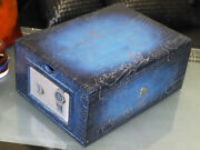 Berluti X Hublot Extremely Rare Classic Fusion Calligraph Leather Watch Box