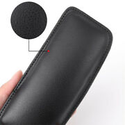 Black Soft Leather Car Door Armrest Elbow Cushion Pillow For Lincoln Models