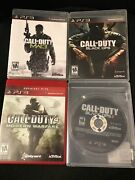 Sony Playstation 3 Game Lot - Call Of Duty Black Ops 1 + 2 Modern Warfare 3 Ps3