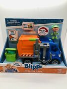 Blippi Talking Recycling Truck Garbage Recycle Vehicle New Release Lift And Load