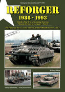 Us Army Special Vol.8 Reforger Part.3 Vehicles 1985-93 English 64 Pages