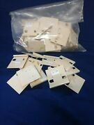 Earring Holder Cards Plastic Assorted New And Used Lot.