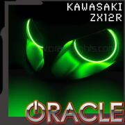 Oracle Lighting Headlight Red Smd Halo Kit For 2000-2006 Kawasaki Zx-12r