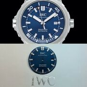 Aquatimer Auto Edition Jacques-yves Costeau Automatic Blue Dial Mens`w