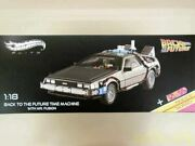 Hot Wheels 1/18 Delorean Hoverboard Back To The Future From Jp Best Used