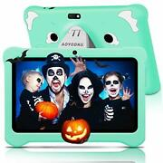 Android 10 Kids Tablet With Wifi 7andrdquo Ips Display   3gb Ram 32gb Rom   Green