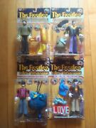 The Beatles Mcfarlane Toys Yellow Submarine Action Figure Set Of 4 From 1999