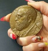 Théodore Reinach 1860 –1928 Medal Story Of Famous Jewish French Family-judaica