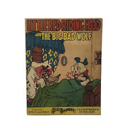 Little Red Riding Hood And The Big Bad Wolf Walt Disney Silly Symphony