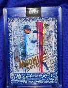 Sold Out Dodgers World Series Topps X Gregory Siff Mookie Betts Card 1 Pr 838