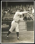 Benny Bengough 1927 New York Yankees Murderers Row Type 1 Original Photo
