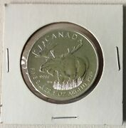 2013 Canada Silver 1 Oz .9999 Moose Coin Wildlife Series Royal Canadian Mint