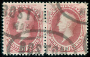 Momen Us Stamps 191 Pair Used Xf Pf Cert Lot 71178