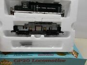 Proto 2000 New York Central Gp-20 Locomotive 6109 New Gears Ho Scale