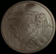 Anne Stokes Dragons Kindred Spirits 5 Troy Oz .999 Fine Silver Art Round