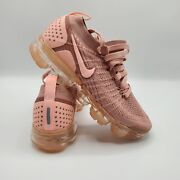 Womenandrsquos Pink Nike Air Vapormax Flyknit 2 Running Trainers Shoes 942843-600