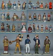 King And Country The World Of Dickens - Lot Of 34 Original Figures