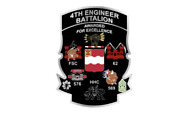 4 4th Engineer Battalion Units Army Bumper Sticker Decal Usa Made