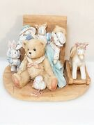 Cherished Teddies Christopher 950483 Old Friends Are The Best Friends 2a20