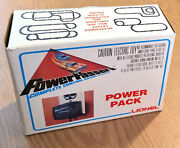 1 1975 Lionel Tcr Slot-less Car Power Passers 28v Power Transformer 3-4660 Boxed