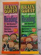 Brain Quest Grade 1 And 2 Reading - Stories, Comprehension, Quizzes