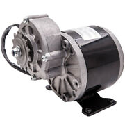 350w Dc Electric Motor 24v 3000rpm Gear 9.71 For Bicycle Atv Dirt Quad Scoot