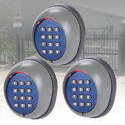 Wireless Security Keypad Remote Operator Control For Sliding Gate Opener 3pcs