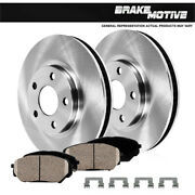 Front Brake Rotors And Ceramic Pads For Lexus Gs300 Gs400 Gs430 Is300 Sc430
