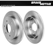 Rear 320 Mm Quality Replacement Oe Brake Rotors For Qx56 Nissan Armada Titan