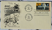 Letter 20 July 1969 Stamp 10 Cent Usa Apollo 11 Manand039s First Landing