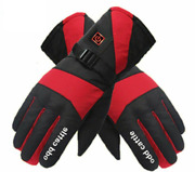 Portable Winter Warm Gloves Thermal Electric Rechargeable Battery Heated Mittens