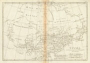 Canada. Great Lakes Hudson Bay. Ontario And Quebec. Bonne 1788 Old Antique Map