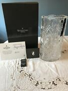 House Of Waterford Dungarvan Oval Vase 14andrdquo Massive Made In Ireland Coa 35/400