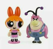 The Powerpuff Girls Blossom And Fuzzy Lumpkins 2 Rare Hard To Find Figures