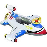 Amazing 7 Inflatable Aircraft Yacht Pool Floats Baby Floaties Toddler Swimming