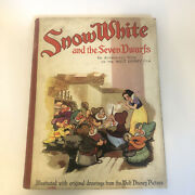 Snow White And The Seven Dwarfs Walt Disney 1930s First English Edition